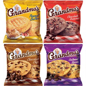 Galletas Grandma's Estilo casero variedades