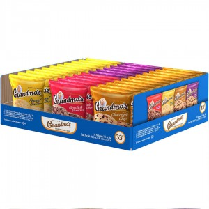 Galletas Grandma's Estilo casero variedades * Pack 33 x 28 gr