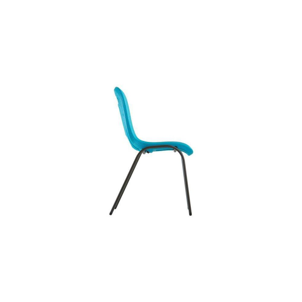 URBNLIVING Camelia Silla infantil color azul pl/ástico, 2 unidades