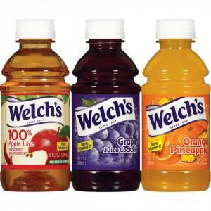 Jugo Welch's variedad de sabores