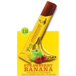 Barra de Fruta Pure Organic Frutilla-Plátano.