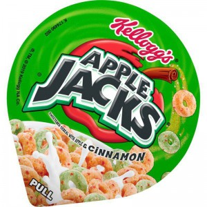 Kellogg's Breakfast Cereal in a Cup Apple Jacks