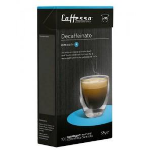 Cápsulas de café para máquinas Nespresso Caffesso Decaffeinato