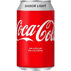 Pack Coca-Cola Light Lata