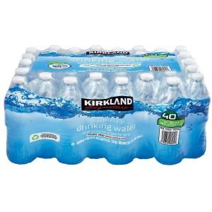 Agua Purificada Kirkland Caja 40 uni