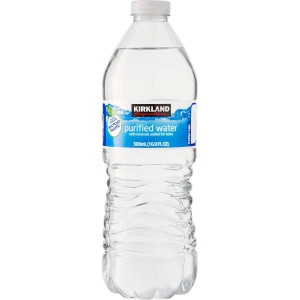 Agua purificada Kirkland Signature