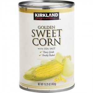 Kirkland Golden Maíz Dulce, 12 Latas x 432 Gr