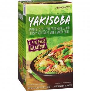 Fideos Salteados con Verduras Yakisoba Ajinomoto