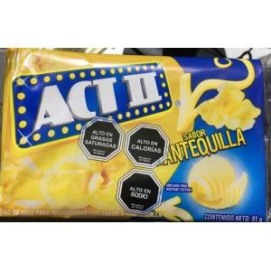 Cabritas ACT II Mantequilla