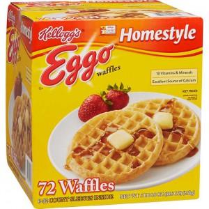 Waffles Eggo Kellogg's