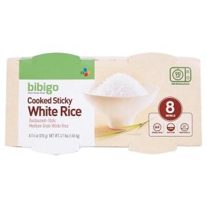 Arroz blanco cocido Bibigo