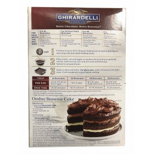 Mezcla Brownie Triple Chocolate Ghirardelli