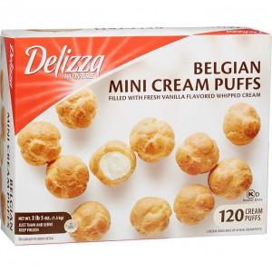 Mini Bollos de Crema Belga Delizza Patisserie