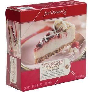 Cheesecake Chocolate Blanco y Frambuesa Jon Donaire
