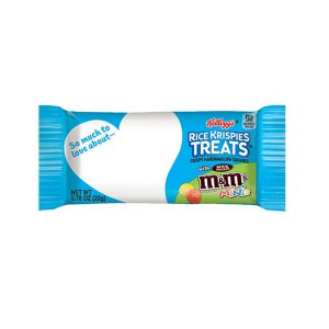 Barritas Rice Krispies Treats con M&M's