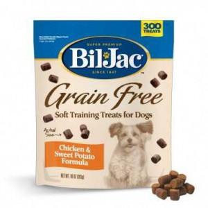 Golosinas para Perros BIL JAC Libres de Granos