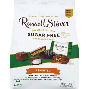 Chocolates Rellenos Sin Azúcar Russell Stover