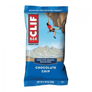 Barritas Avena Clif Bar Chocolate Chip.