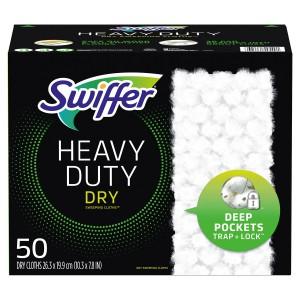 Paños Secos para el Trapero Swiffer Sweeper Heavy Duty Dry