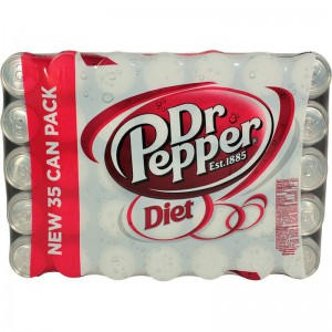 Pack de Bebidas Dr. Pepper Sabor Diet