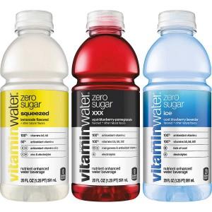 Agua Vitamin Water Zero Variedad de Sabores