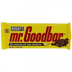 Barras Chocolate con Maní Mr. Goodbar