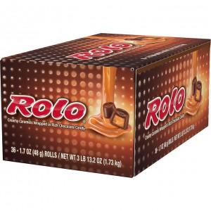 Chocolates rellenos con Caramelo Rolo