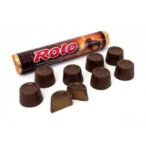 Chocolates Rellenos con Caramelo Rolo Caja 36 uni