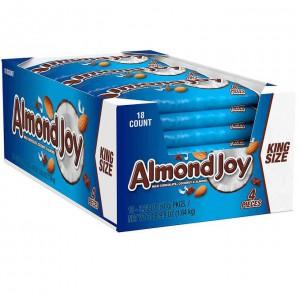Barritas de Coco y Almendras Bañadas en Chocolate King Size Almond Joy