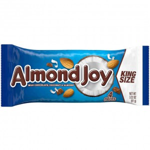 Barras de Coco y Almendras Bañadas en Chocolate Almond Joy
