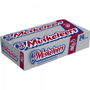 Chocolates 3 Musketeers