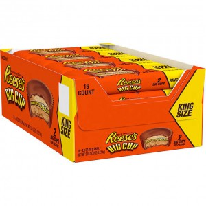 Chocolates con Mantequilla de Maní Reese's Big Cup King Size