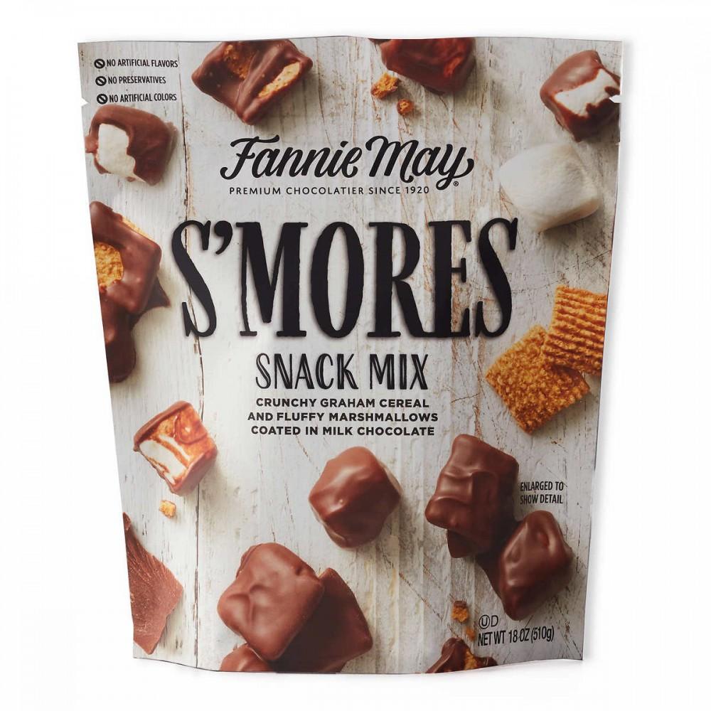 Malvaviscos cubiertos con chocolate Fannie May Smores