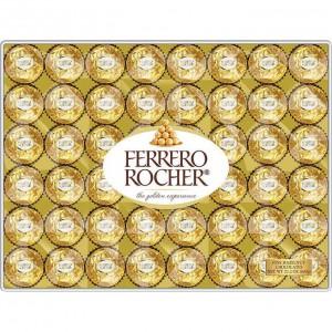 Bombones de chocolate con avellanas Ferrero Rocher