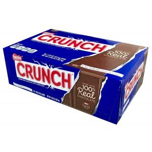 Barras de chocolate con arroz crispy Crunch