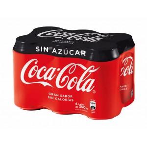 Coca Cola Sin Azúcar 6 pack