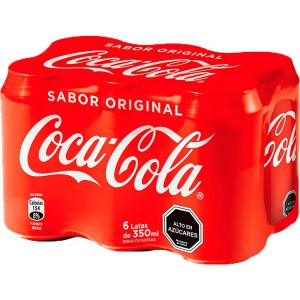 Coca Cola Original Lata 350ml