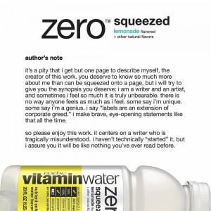 Agua Vitamin Water Zero Squeezed Glacéau Sabor Limonada