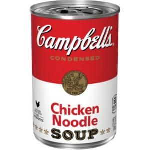 Sopa de Pollo con Fideos Campbell's 305 ml.