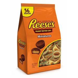 Chocolates Rellenos con Mantequilla de Maní Reese's