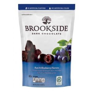 Arándanos y Açai cubiertos con Chocolate Brookside