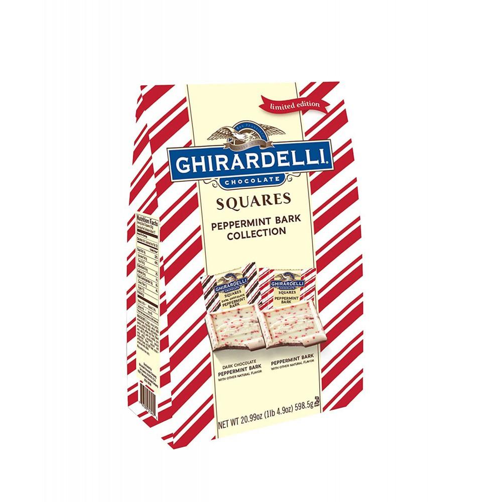 Cuadrados de Chocolate con Corteza Sabor Menta Ghirardelli