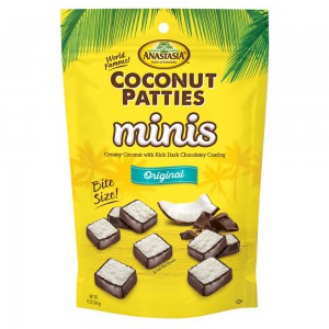 Mini Chocolates Rellenos con Coco Anastasia Coconut Patties