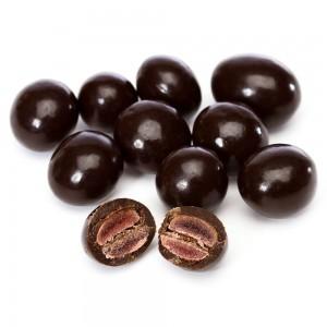 Granadas Cubiertas en Chocolate Negro Brookside